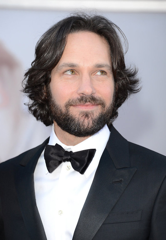 . Actor Paul Rudd arrives at the Oscars at Hollywood & Highland Center on February 24, 2013 in Hollywood, California.  (Photo by Jason Merritt/Getty Images)