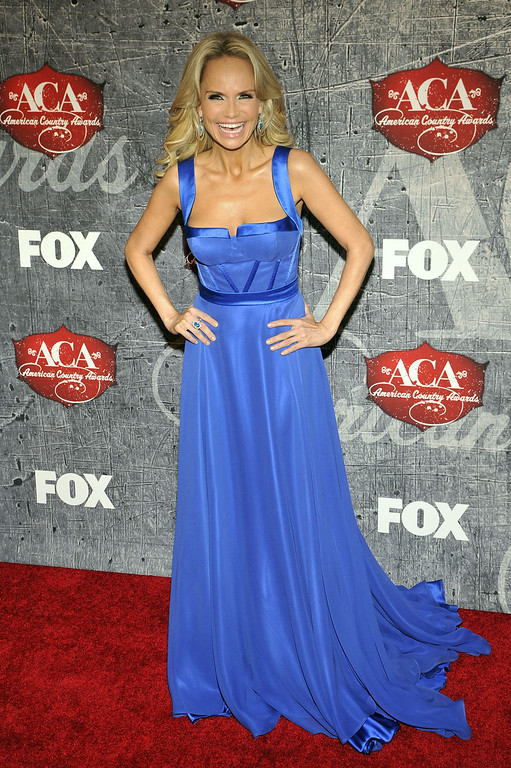 . Co-host Kristin Chenoweth arrives at the American Country Awards on Monday, Dec. 10, 2012, in Las Vegas. (Photo by Jeff Bottari/Invision/AP)