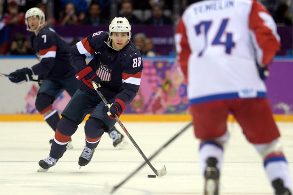 PHOTOS: Men's Ice Hockey USA vs. Russia at 2014 Sochi Winter Olympics