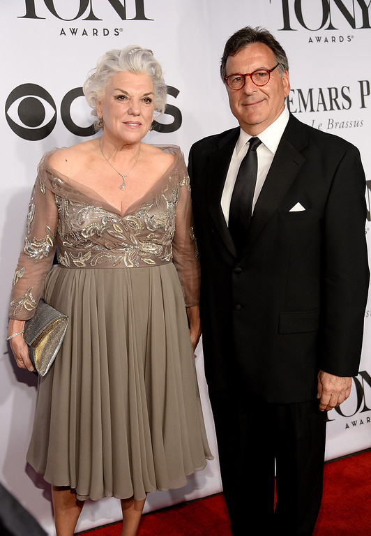 . Actress Tyne Daly and guest attend the 68th Annual Tony Awards at Radio City Music Hall on June 8, 2014 in New York City.  (Photo by Dimitrios Kambouris/Getty Images for Tony Awards Productions)