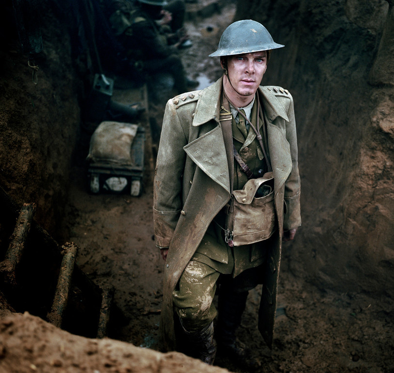 ". In this publicity image released by HBO, Benedict Cumberbatch appears in the mini-series ""Parade\'s End.\""  Cumberbatch was nominated for an Emmy Award for best actor in a miniseries or movie on, Thursday July 18, 2013. The Academy of Television Arts & Sciences\' Emmy ceremony will be hosted by Neil Patrick Harris. It will air Sept. 22 on CBS. (AP Photo/HBO, Nick Briggs)"