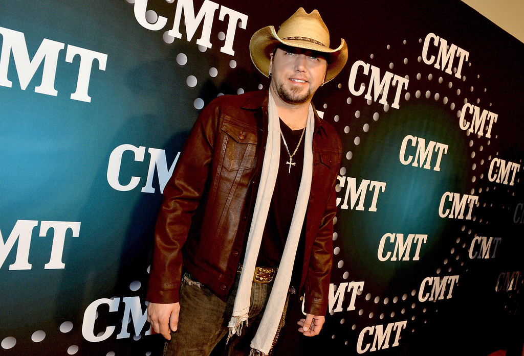 . Jason Aldean attends CMT Artists Of The Year 2013 at Music City Center on December 3, 2013 in Nashville, Tennessee.  (Photo by Rick Diamond/Getty Images for CMT)