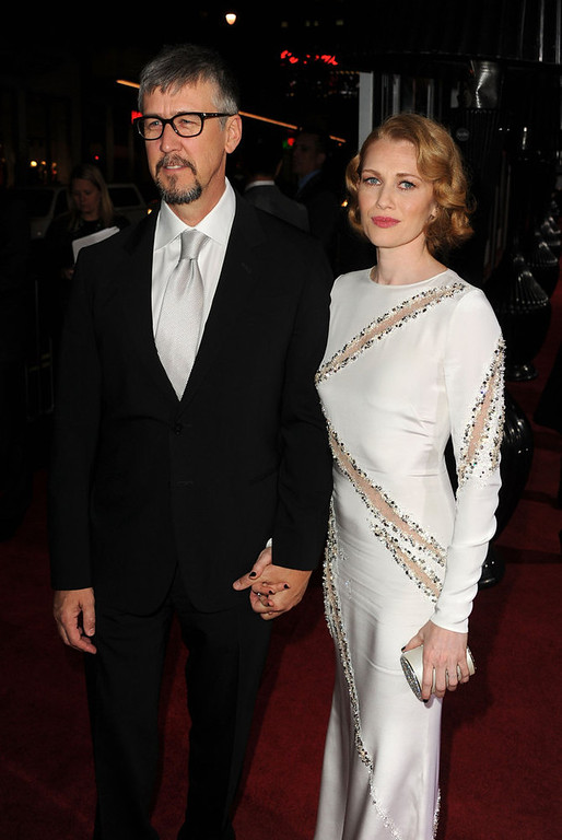 """. Actors Alan Ruck and Mireille Enos arrive at Warner Bros. Pictures\' \""""Gangster Squad\"""" premiere at Grauman\'s Chinese Theatre on January 7, 2013 in Hollywood, California.  (Photo by Kevin Winter/Getty Images)"""
