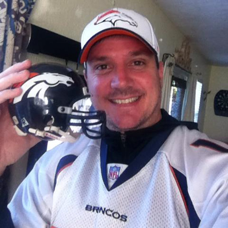 . Florida Bronco supporting the team with pride!! (Photo by Gunther)