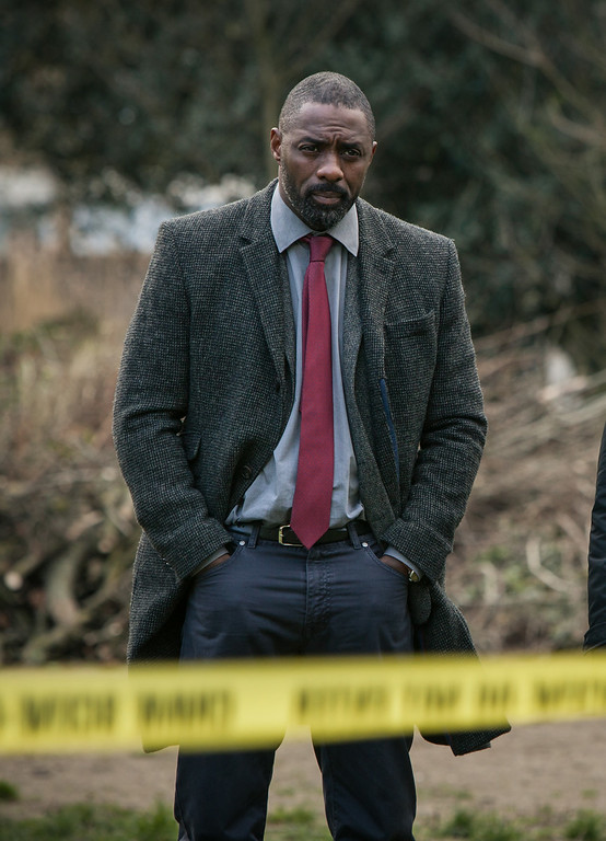 ". This image released by BBC America shows Idris Elba in a scene from ""Luther.\"" Elba was nominated for an Emmy Award for best actor in a miniseries or movie on Thursday, July 10, 2014. The 66th Primetime Emmy Awards will be presented Aug. 25 at the Nokia Theatre in Los Angeles. (AP Photo/BBC America, Rober Viglasky)"