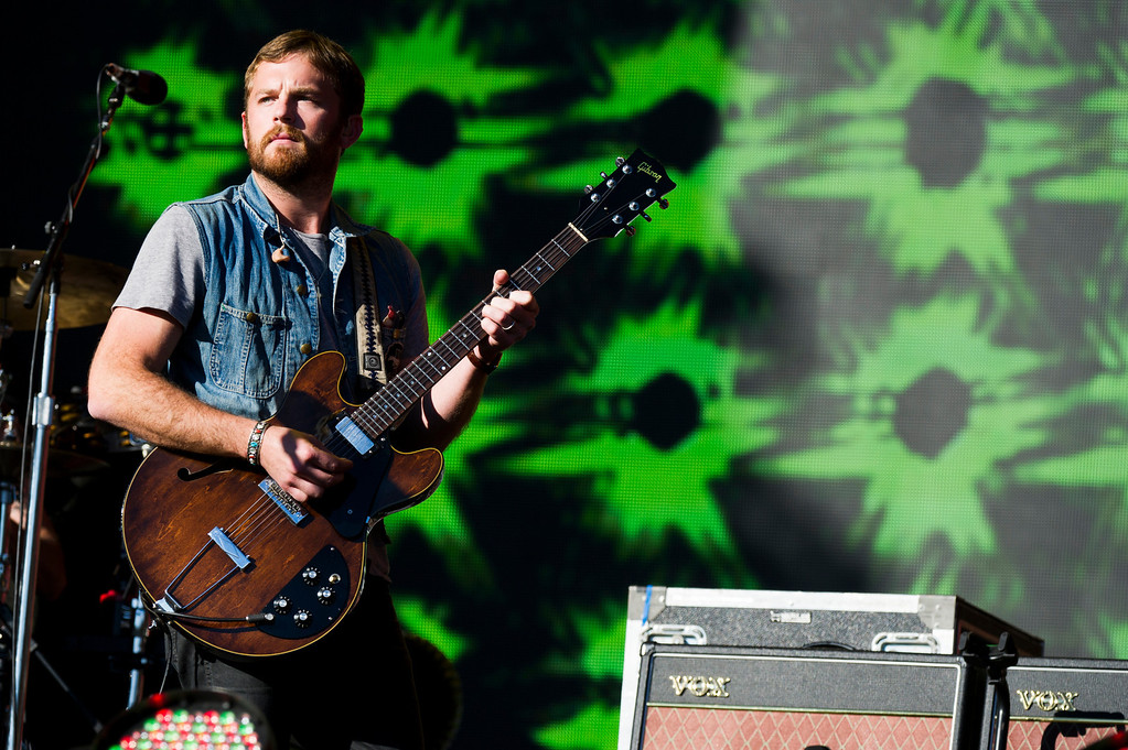 . INVISION FOR UNITE4:GOOD - Caleb Followill from Kings of Leon performs at the Global Citizen Festival supported by unite4:good and the PVBLIC Foundation in Central Park on Saturday, Sept. 28, 2013 in New York. (Photo by Charles Sykes/Invision for unite4:good/AP Images)