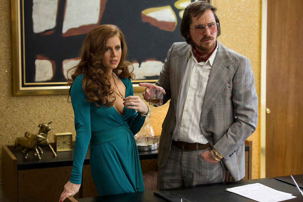 ". 2014 Academy Award Nominee for Best Production Design: ""American Hustle.\"" (AP Photo/Sony - Columbia Pictures, Francois Duhamel)"