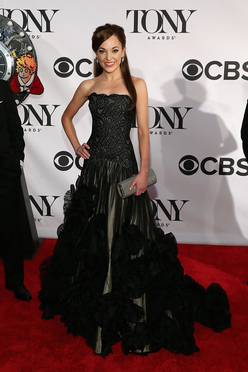 . Actress Laura Osnes attends The 67th Annual Tony Awards  at Radio City Music Hall on June 9, 2013 in New York City.  (Photo by Neilson Barnard/Getty Images)