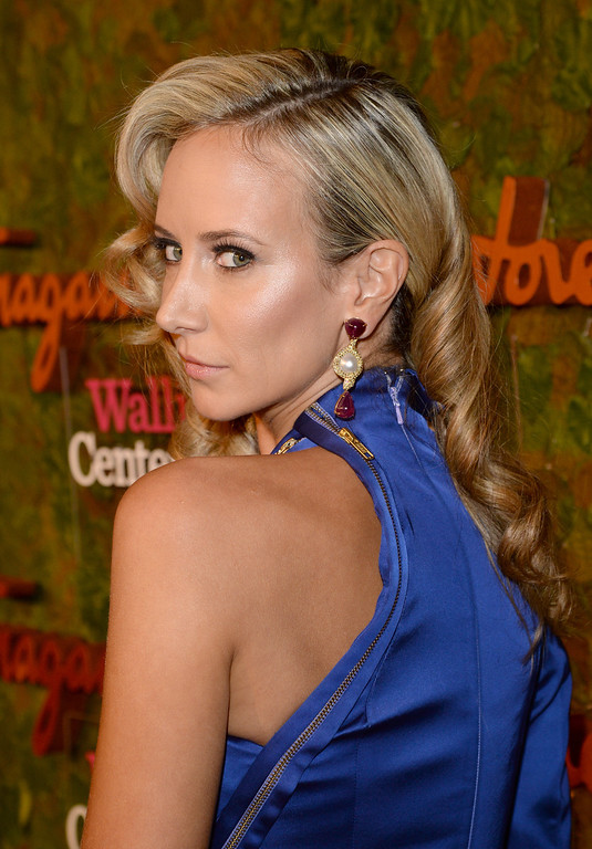 . Lady Victoria Hervey arrives at the Wallis Annenberg Center for the Performing Arts Inaugural Gala presented by Salvatore Ferragamo at the Wallis Annenberg Center for the Performing Arts on October 17, 2013 in Beverly Hills, California.  (Photo by Jason Merritt/Getty Images for Wallis Annenberg Center for the Performing Arts)