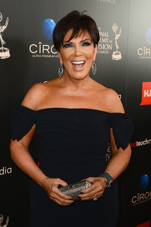 . TV Personality Kris Jenner attends The 40th Annual Daytime Emmy Awards at The Beverly Hilton Hotel on June 16, 2013 in Beverly Hills, California.  (Photo by Mark Davis/Getty Images)