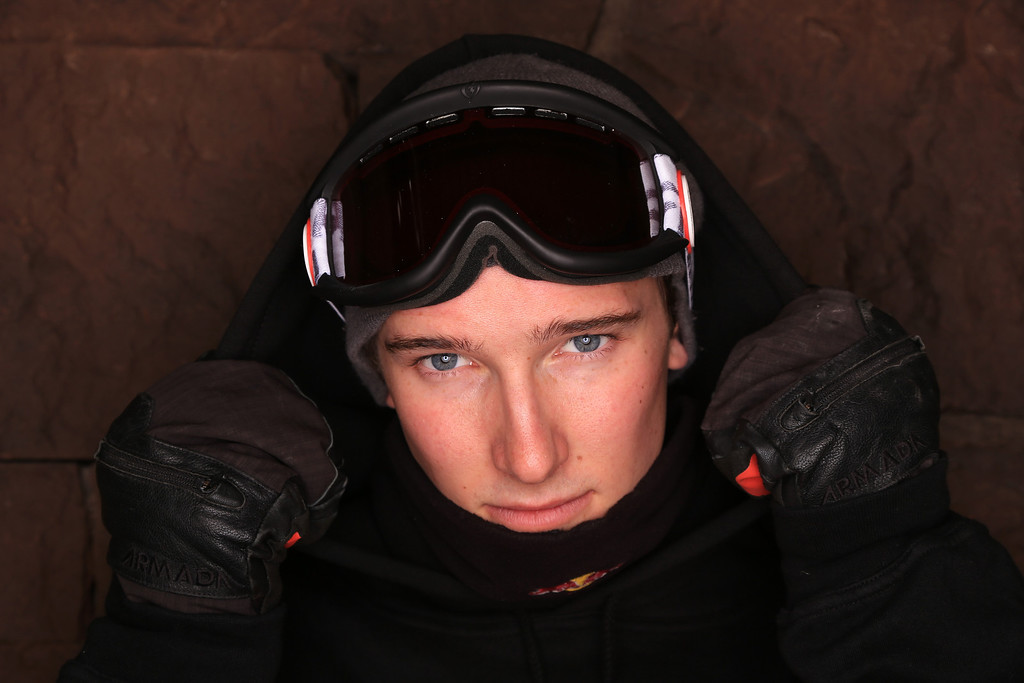 . Freeskier Torin Yater-Wallace poses for a portrait during the USOC Media Summit ahead of the Sochi 2014 Winter Olympics on October 1, 2013 in Park City, Utah.  (Photo by Doug Pensinger/Getty Images)