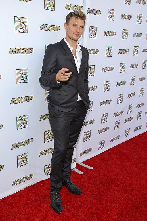 . Nick Carter attends the 30th Annual ASCAP Pop Music Awards at Loews Hollywood Hotel on April 17, 2013 in Hollywood, California.  (Photo by Paul A. Hebert/Getty Images)