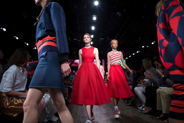 PHOTOS: Mercedes-Benz Fashion Week highlights for Spring 2015, New York City