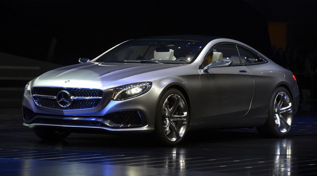 . An S-Class Coupe concept car of Mercedes-Benz is presented during the media day of the IAA (Internationale Automobil Ausstellung) international motor show in Frankfurt am Main, western Germany, on September 10, 2013.     AFP PHOTO / JOHANNES  EISELE/AFP/Getty Images