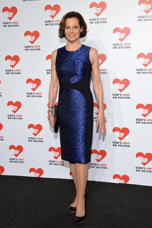 . NEW YORK, NY - OCTOBER 16:  Actress Sigourney Weaver attends God\'s Love We Deliver 2013 Golden Heart Awards Celebration at Spring Studios on October 16, 2013 in New York City.  (Photo by Larry Busacca/Getty Images for Michael Kors)