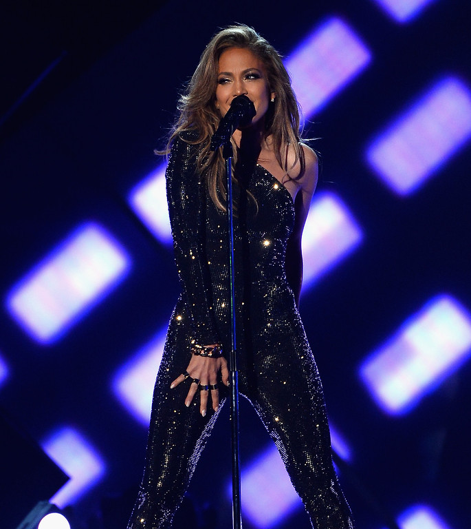 . Singer/actress Jennifer Lopez performs onstage during the 2014 Billboard Music Awards at the MGM Grand Garden Arena on May 18, 2014 in Las Vegas, Nevada.  (Photo by Ethan Miller/Getty Images)