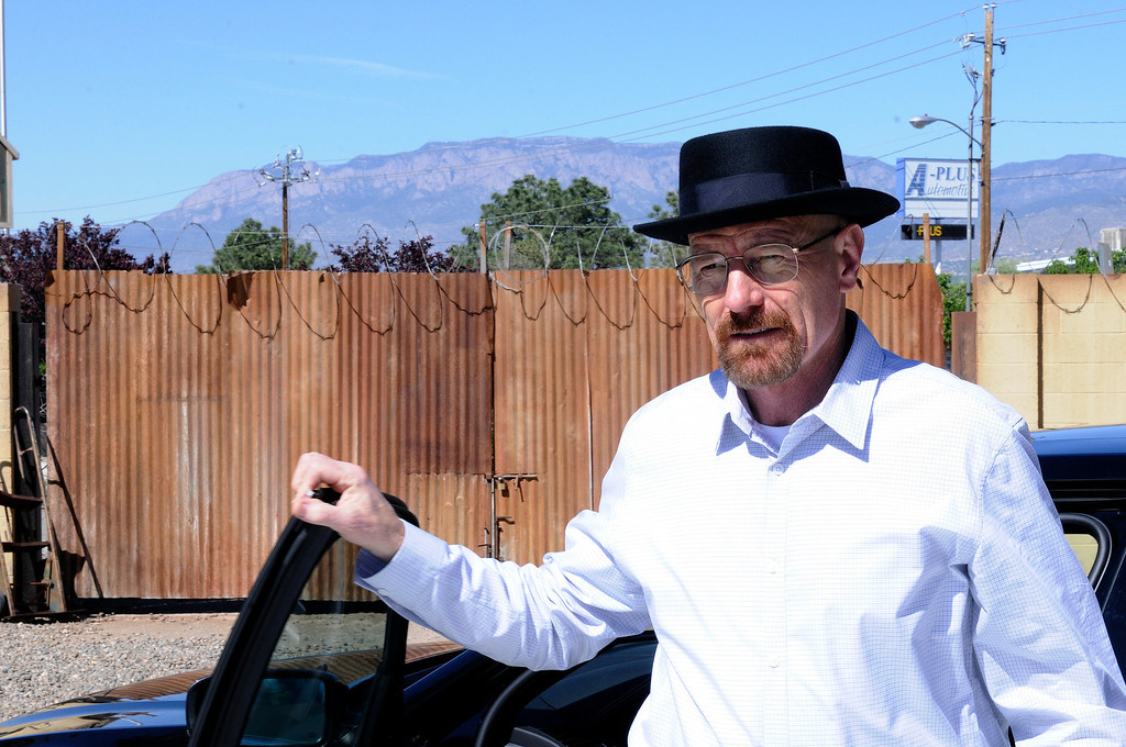 ". Walter White (Bryan Cranston) - Breaking Bad_Season 5, Episode 4_""Fifty-One\"" - Photo Credit: Ursula Coyote/ AMC"