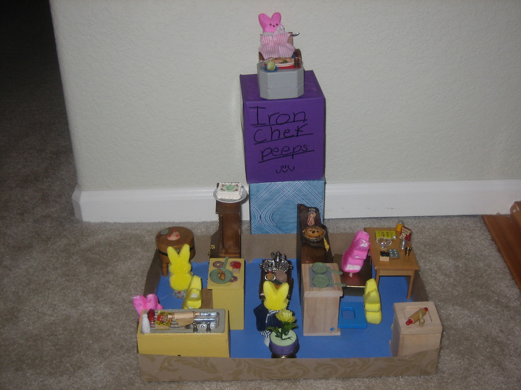 . Iron Chef Peeps by Anna Johnson, Age 7