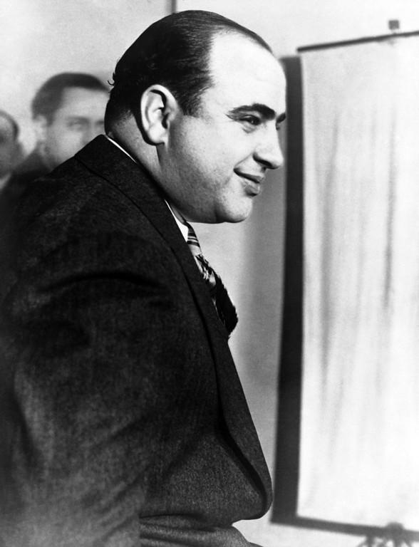 . Al Capone shown around April 14, 1931. (AP Photo)