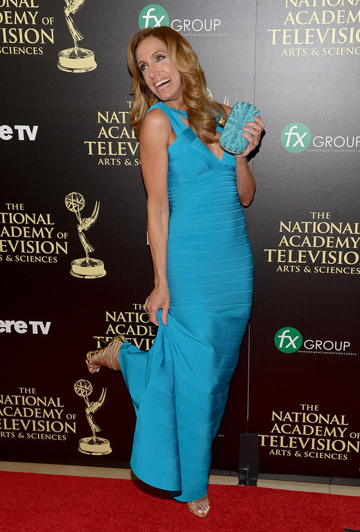 . TV personality Lili Estefan attends The 41st Annual Daytime Emmy Awards at The Beverly Hilton Hotel on June 22, 2014 in Beverly Hills, California.  (Photo by Jason Kempin/Getty Images)
