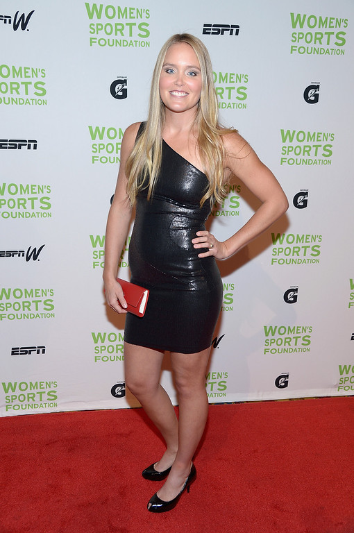 . NEW YORK, NY - OCTOBER 16:  Freestyle Skier Grete Eliassen attends the 34th annual Salute to Women In Sports Awards at Cipriani, Wall Street on October 16, 2013 in New York City.  (Photo by Michael Loccisano/Getty Images for the Women\'s Sports Foundation)