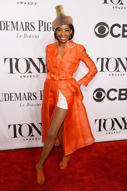 . Actress Adriane Lenox attends the 68th Annual Tony Awards at Radio City Music Hall on June 8, 2014 in New York City.  (Photo by Dimitrios Kambouris/Getty Images for Tony Awards Productions)