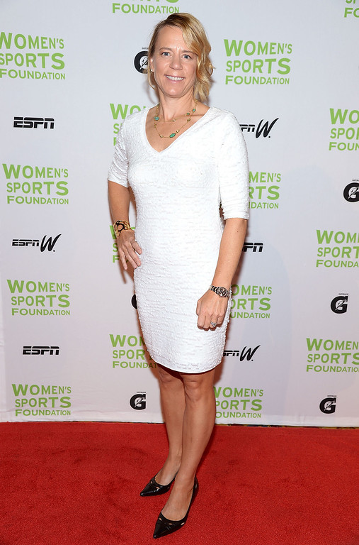 . NEW YORK, NY - OCTOBER 16:  Professional golfer Annika Sorenstam attends the 34th annual Salute to Women In Sports Awards at Cipriani, Wall Street on October 16, 2013 in New York City.  (Photo by Michael Loccisano/Getty Images for the Women\'s Sports Foundation)
