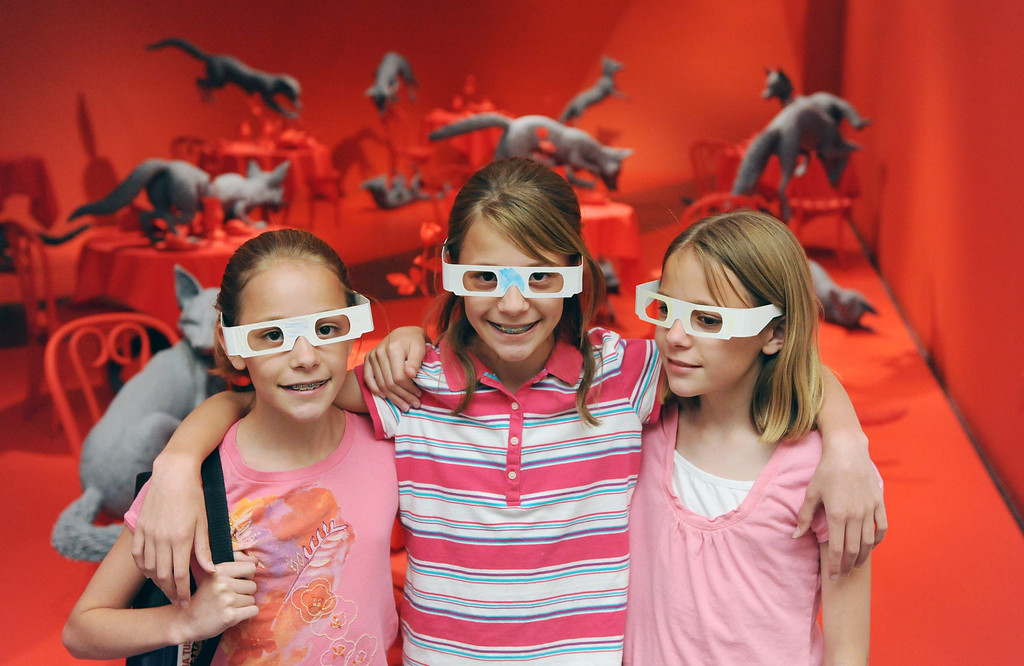 . The Denver Art Museum\'s family backpacks and art tubes program has been a success. (Photo by Chris Schneider)