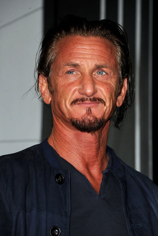 """. Actor Sean Penn arrives at Warner Bros. Pictures\' \""""Gangster Squad\"""" premiere at Grauman\'s Chinese Theatre on January 7, 2013 in Hollywood, California.  (Photo by Kevin Winter/Getty Images)"""