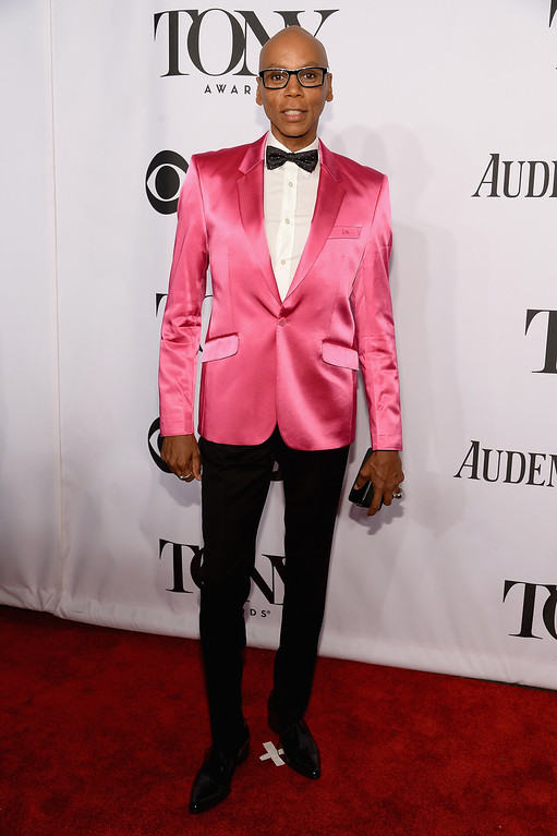 . RuPaul attends the 68th Annual Tony Awards at Radio City Music Hall on June 8, 2014 in New York City.  (Photo by Dimitrios Kambouris/Getty Images for Tony Awards Productions)