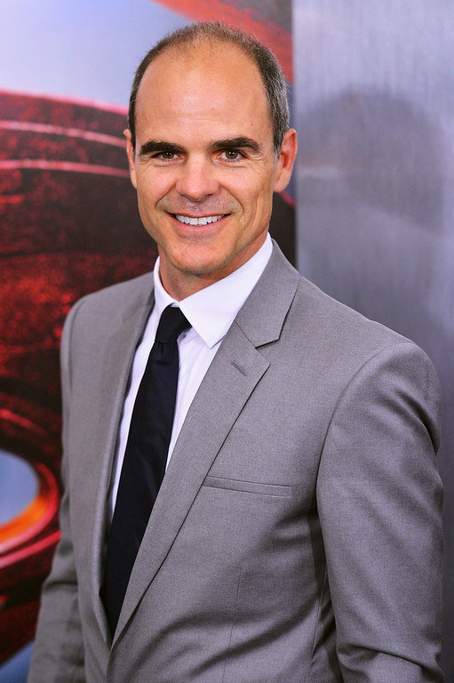 """. Actor Michael Kelly attends the \""""Man Of Steel\"""" world premiere at Alice Tully Hall at Lincoln Center on June 10, 2013 in New York City.  (Photo by Stephen Lovekin/Getty Images)"""
