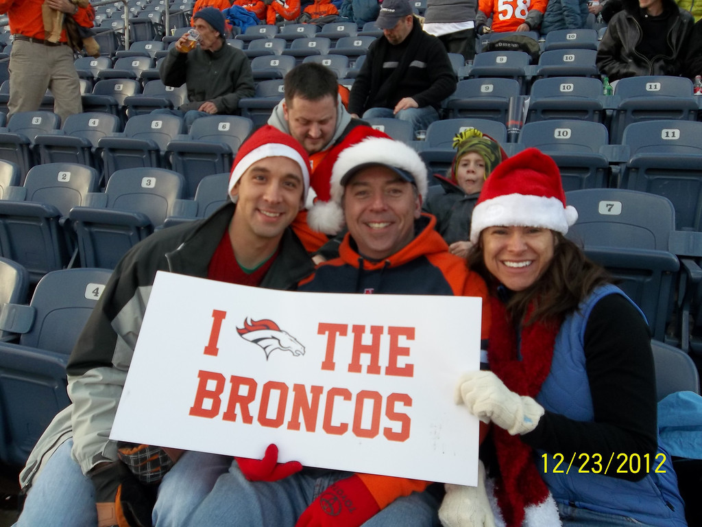 . We\'ve been waiting for this weekend for more than a year now. Go, Broncos!