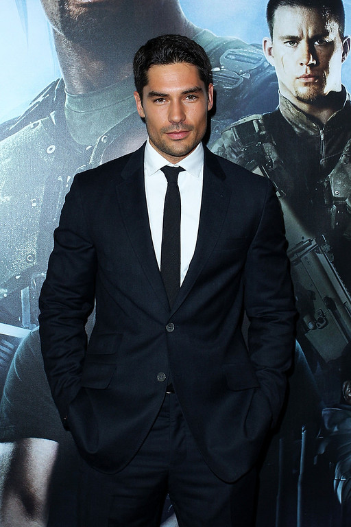". DJ Cotrona arrives at the ""G.I.Joe: Retaliation\"" - Australian Premiere at Event Cinemas George Street on March 14, 2013 in Sydney, Australia.  (Photo by Lisa Maree Williams/Getty Images)"