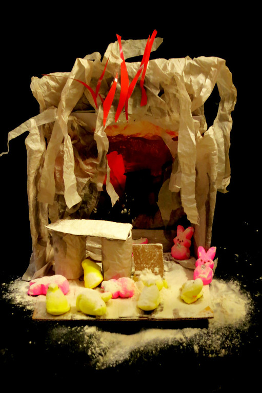 . Title: Peep Pompeii. By: Franklin Ridgeway (7) and Elena Wilken (42)