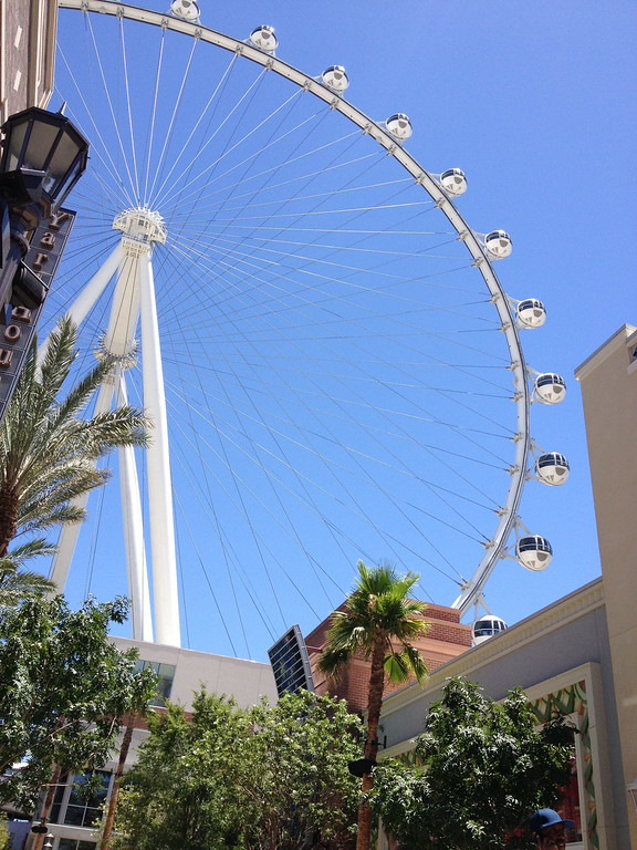 . High Roller at Caesars, the world\'s highest observation wheel, offers a new focal point at one end of the Strip. Kyle Wagner, The Denver Post