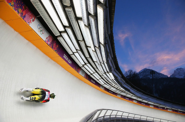 PHOTOS: Women's Luge Singles at Sochi 2014 Winter Olympics