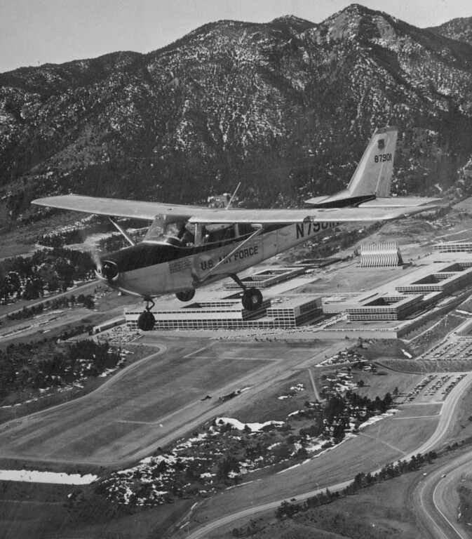 . The Air Force Academy, Colorado\'s No. 1 Tourist Attraction in 1972. The Denver Post Library Archive