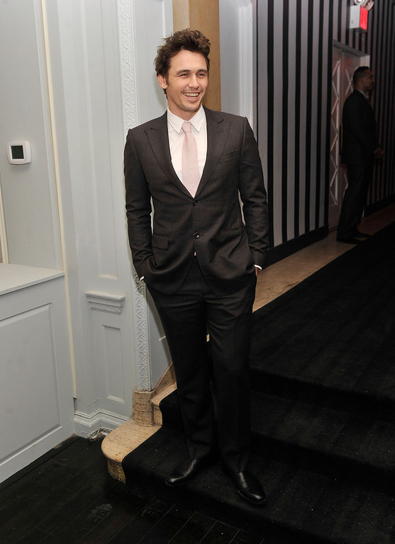 ". Actor James Franco attends the after party for the Gucci and The Cinema Society screening of ""Oz the Great and Powerful\"" at Harlow on March 5, 2013 in New York City.  (Photo by Stephen Lovekin/Getty Images)"