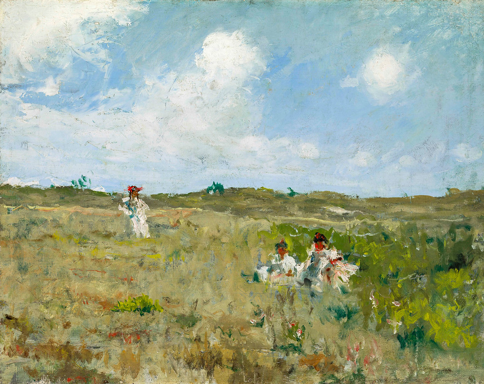 ". William Merrit Chase, ""Shinnecock Landscape,\' 1903, oil on canvas, 16x20.\""  (Image provided by the Denver Art Museum)"