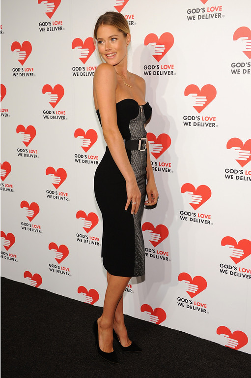 . NEW YORK, NY - OCTOBER 16:  Model Doutzen Kroes attends God\'s Love We Deliver 2013 Golden Heart Awards Celebration at Spring Studios on October 16, 2013 in New York City.  (Photo by Dimitrios Kambouris/Getty Images for Michael Kors)