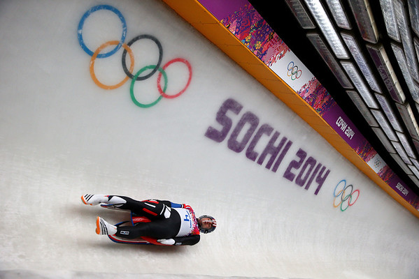 PHOTOS: Men's Luge Singles finals at the Sochi Winter Olympics