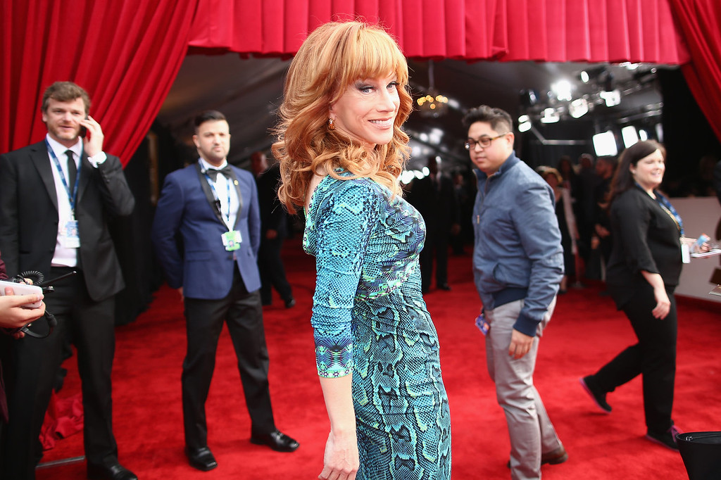 . Actress Kathy Griffin attends the 56th GRAMMY Awards at Staples Center on January 26, 2014 in Los Angeles, California.  (Photo by Christopher Polk/Getty Images for NARAS)
