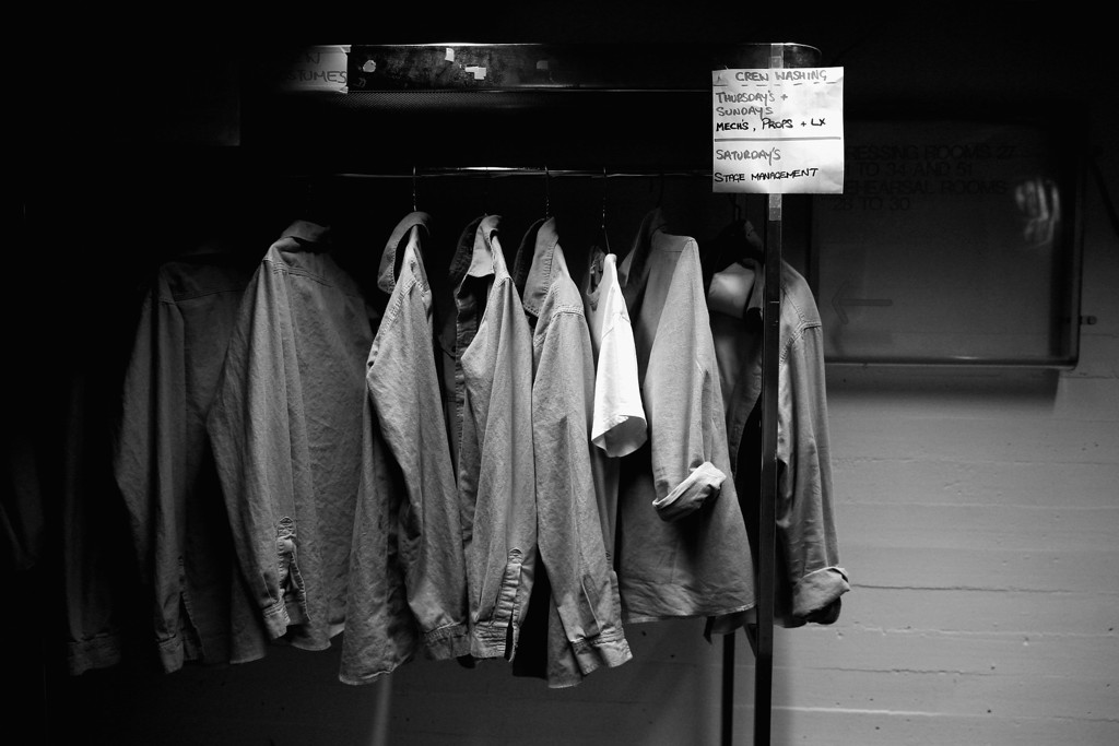 . Costumes are seen backstage of the Dame Joan Sutherland Theatre in the Sydney Opera House on October 17, 2013 in Sydney, Australia.  (Photo by Cameron Spencer/Getty Images)