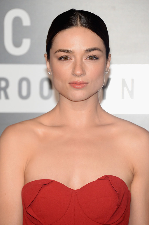 . Actress Crystal Reed attends the 2013 MTV Video Music Awards at the Barclays Center on August 25, 2013 in the Brooklyn borough of New York City.  (Photo by Jamie McCarthy/Getty Images for MTV)