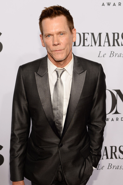 . Kevin Bacon attends the 68th Annual Tony Awards at Radio City Music Hall on June 8, 2014 in New York City.  (Photo by Dimitrios Kambouris/Getty Images for Tony Awards Productions)