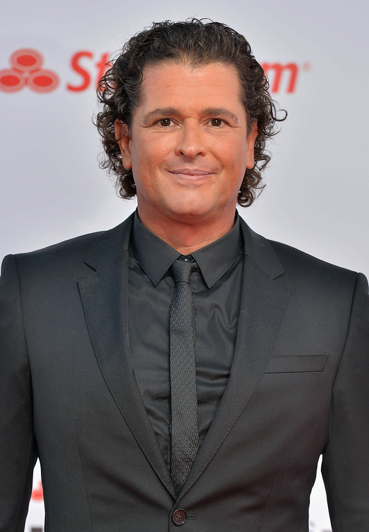. MIAMI, FL - APRIL 25:  Carlos Vives arrives at Billboard Latin Music Awards 2013 at Bank United Center on April 25, 2013 in Miami, Florida.  (Photo by Gustavo Caballero/Getty Images)