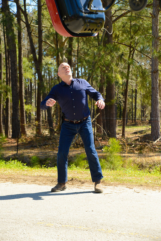 ". ""Heads Will Roll\"" - Dean Norris as James  as Big Jim-Rennie in UNDER THE DOME which returns for its second season on Monday June 30 at 10:00 PM ET/PT on CBS Television Network (Photo: Brownie Harris/CBS)"
