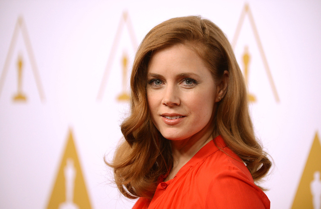 ". 2014 Academy Award Nominee for Best Actress in a Leading Role: Amy Adams in ""American Hustle.\"" (Photo by Jordan Strauss/Invision/AP)"
