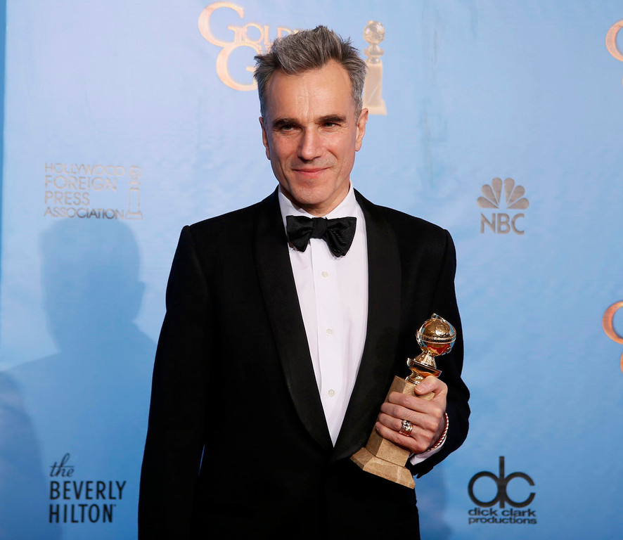 . Best Actor in a Motion Picture - Drama: Daniel Day-Lewis, Lincoln 