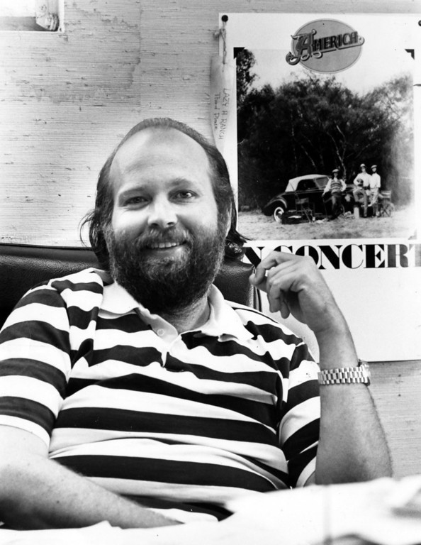 . Concert promoter Barry Fey, February 15, 1976.  Denver Post Archive Photo
